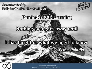 Reminder XXI Learning